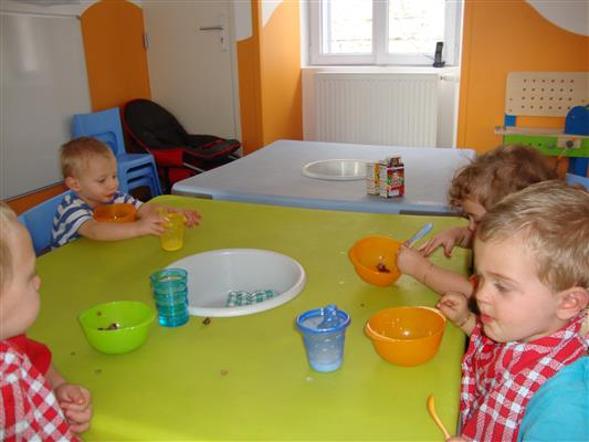 La semaine du go t la cr che - Atelier cuisine en creche ...
